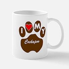 I Heart My Cockapoo Mugs