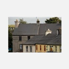 Town of Westport Streetscene, Cou Rectangle Magnet
