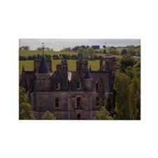 The Blarney House on the grounds  Rectangle Magnet