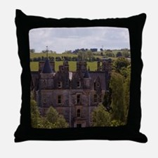 The Blarney House on the grounds with Throw Pillow
