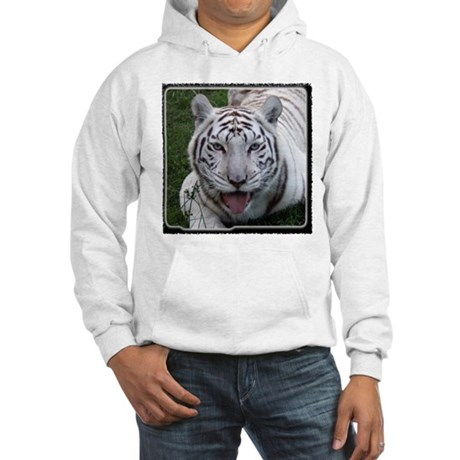 White Tiger 2 Hooded Sweatshirt