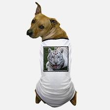 White Tiger 2 Dog T-Shirt