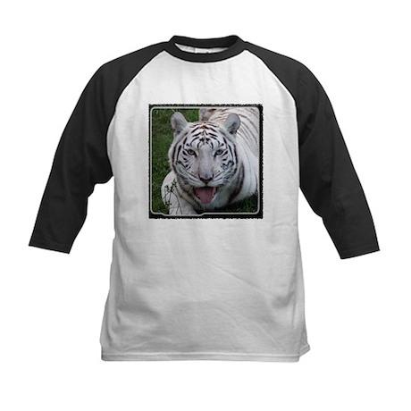 White Tiger 2 Kids Baseball Jersey