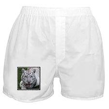 White Tiger 2 Boxer Shorts