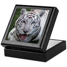 White Tiger 2 Keepsake Box