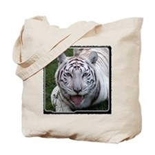 White Tiger 2 Tote Bag