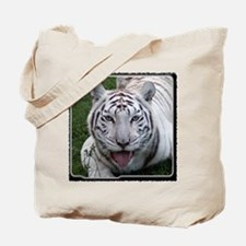 White Tiger 2 Tote Bag