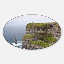 On the west coast of Ireland specta Sticker (Oval)