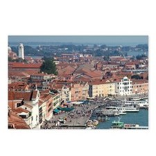 Italy, Venice, view from  Postcards (Package of 8)