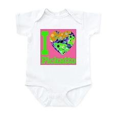 I Love Pickatto Infant Bodysuit