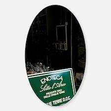 Riomaggiore. Local product signomag Sticker (Oval)