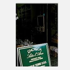 Riomaggiore. Local produc Postcards (Package of 8)