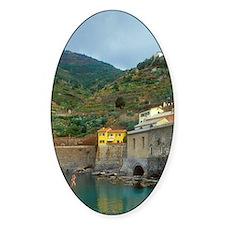 Italy: Cinque Terre, Vernazza, harb Decal