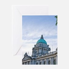 Ireland, Belfast, historic, architec Greeting Card