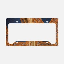 Vaulted ceiling architectural License Plate Holder