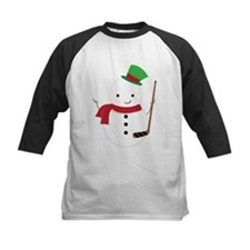 Hockey Sports Snowman Baseball Jersey