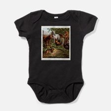 Animal Print of Oft Told Tales Baby Bodysuit