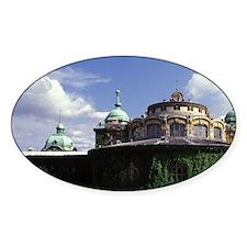 Hungary, Budapest, Szechenyi Bath. Decal