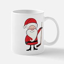 Hockey Sports Christmas Santa Mug