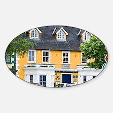 Ireland, County Mayo, Westport. Sticker (Oval)