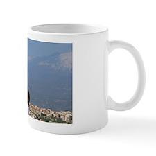 Gateway to Taormina. View of Mt. Etna v Mug