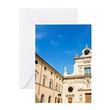 Italy, Parma, Church of San Giovanni Greeting Card