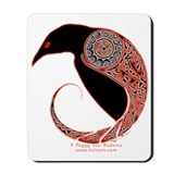 Celtic crow Classic Mousepad