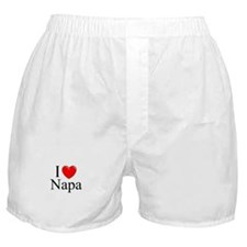 """I Love Napa"" Boxer Shorts"