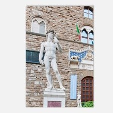 Palazzo Vecchio Entrance  Postcards (Package of 8)
