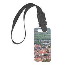 PECS: City View from the North,  Luggage Tag