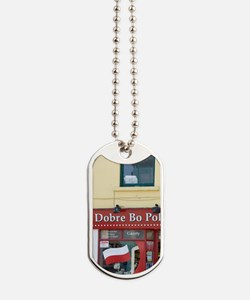 Westport. A Polish grocery store featurin Dog Tags