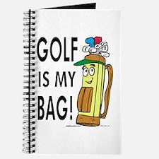 Golf Is My Bag Journal