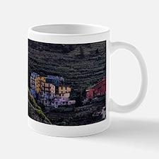 The colorful dwellings of Manarola are  Mug