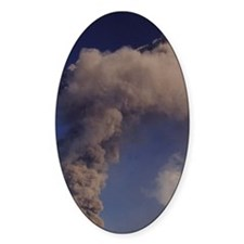 Mt. Etna summit vent, Sicily, Italy Decal