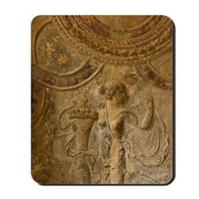 Pompeii. Ceiling details of the Stabian  Mousepad