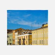 Italy, Parma, Viale Mariotti Throw Blanket