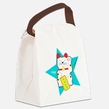 hapaTeezManeki2 Canvas Lunch Bag