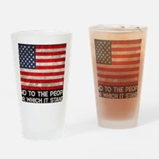 people-stands-TIL Drinking Glass