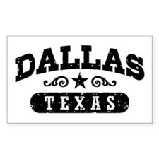 Dallas Texas Decal