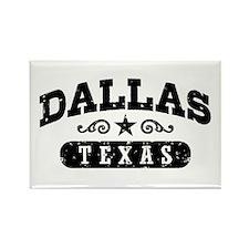 Dallas Texas Rectangle Magnet