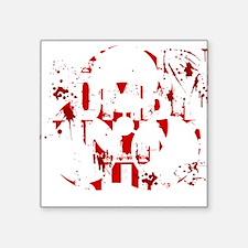 "zombieskillingZ Square Sticker 3"" x 3"""
