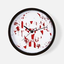 zombieskillingZ Wall Clock