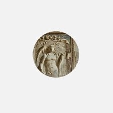 Italy, Campania, Pompeii. Detail of wa Mini Button
