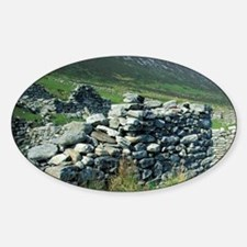 Ireland, County Mayo, Achill Island Sticker (Oval)