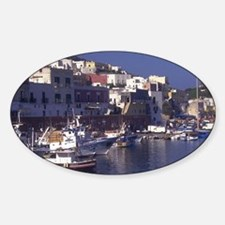 Isola di Ponza. Port at Village of  Decal