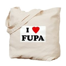 I Love FUPA Tote Bag