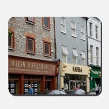 Town of Tralee Streetscene, County Kerry Mousepad
