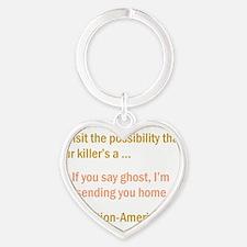CASTLE apparition-american Heart Keychain