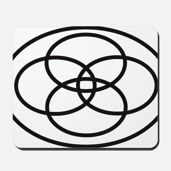 Plural Pride Symbol Mousepad