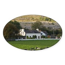 Farm, Ireland, Countryside, Cows, L Decal